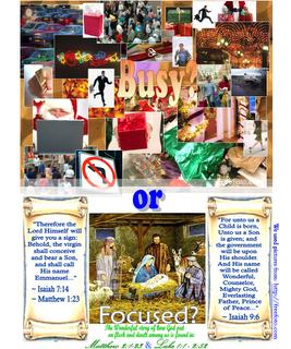 Christmas Focus Poster