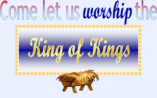 Worship the King of Kings