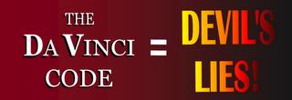 Da Vinci Code = LIES